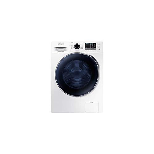 Samsung WD80J5B30AW - Asciugatrice per lavatrice 8 kg/secco, 6 kg, 1400 giri, classe B, bianco.