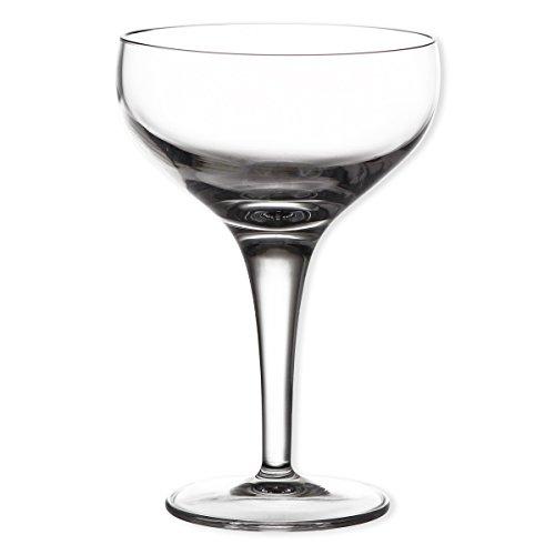 Luigi Bormioli 7540015 Boîte de 6 Coupes, Cristal, Transparent, 9,5x9,5x14 cm