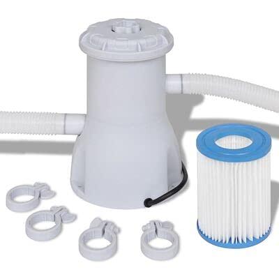 Filtro con bomba para piscina 3028 L/h, filtro de arena para piscinas fuera del suelo, funda de plástico reforzado