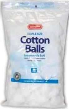 Leader Cotton Balls, Sterile 130 Ea by U S COTTON INC
