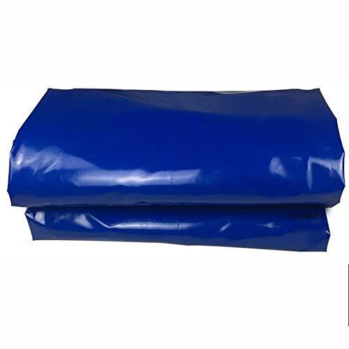 HUIYUAN wasserdichte Und Regensichere Plane Aus Segeltuch for Den Außenbereich Bodenisolierung Staubdicht Staubdicht for Den Außenbereich Blau (Size : 3x5m)