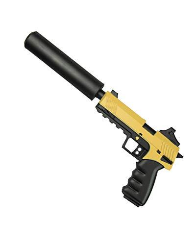 Horror-Shop Glock con Pistola Giocattolo in Gommapiuma con Silenziatore