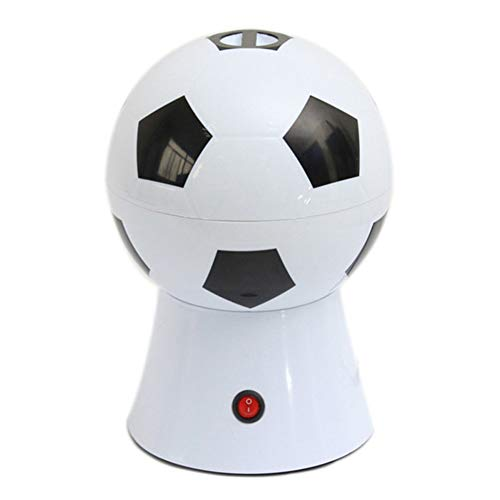 NAFE Popcornmaschine-Elektrische Popcorn Popper Maschine, haushalts Fußball/Basketball-Form Popcorn Maker Popcorn Maschine DIY Mais Popper Kinder Geschenk Hause Teil-Football-USA