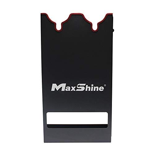 Maxshine Polisher Holder/Rack for Holding The Polisher (Black, Double Station-1pc)