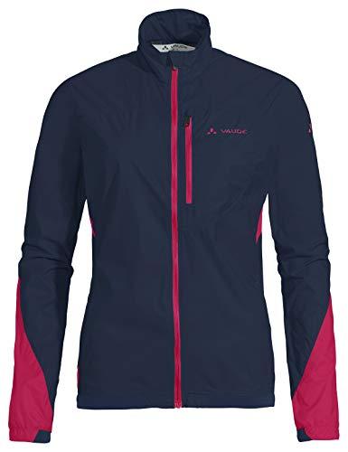 VAUDE Damen Jacke Women's Moab UL Jacket II, Ultraleichte Windjacke zum Mountainbiken, eclipse, 40, 415307500400
