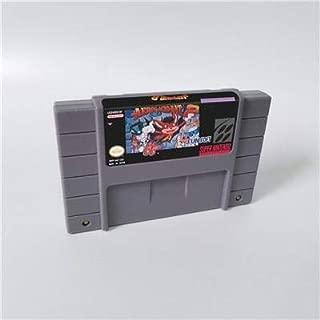 Game card - Game Cartridge 16 Bit SNES , Game Aero the Acrobat 2 - Action Game Card US Version English Language