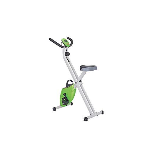DJDLLZY Bicicletas estáticas, pelotón de control magnético de bicicleta de ejercicios, ultra silencioso vertical Inicio bicicleta de spinning, aparatos de ejercicios Bicicleta estática, estable y cómo