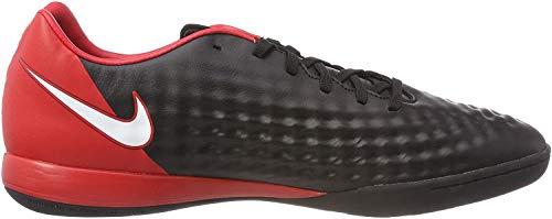 Nike Magistax Onda II IC, Scarpe da Calcio Uomo, Nero Bianco università Rosso 061, 46 EU