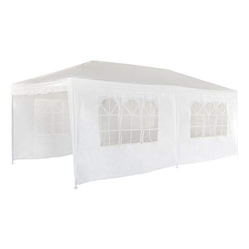 Aktive 53993 Carpa plegable Garden poliéster color blanco