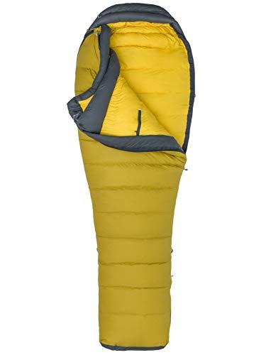 Marmot Wind River Long Sac de Couchage Golden Palm/Slate Grey FR : Taille Unique (Taille Fabricant : 198 cm)