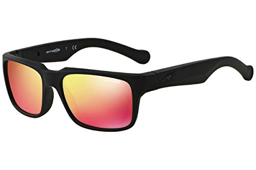 Arnette 0AN4211 447/6Q 55 gafas de sol, Negro (Fuzzy Black/Redmultilayer), Unisex-Adulto
