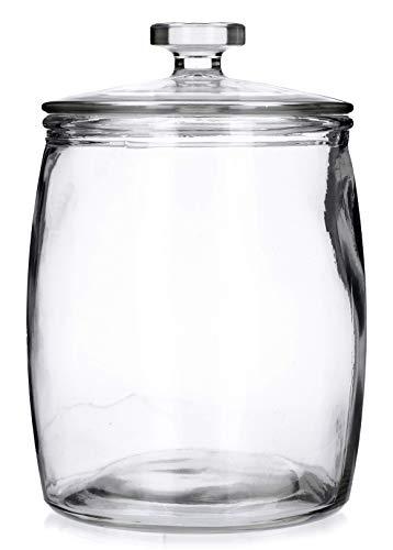 chomik Gurkenglas, Einmachglas, Einmachgläser, Einweckglas aus Glas mit Deckel 2,25L/5L/8L/10L (8L)