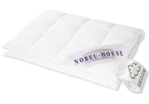 Hanskruchen Nobel House Luxus Daunendecke, Medium, Baumwolle, 135 x 200 cm