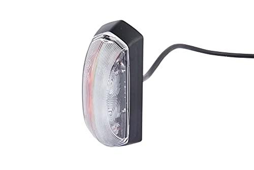 HELLA 2XS 205 020-041 Umrissleuchte - LED - 12V - LED-Lichtfarbe: rot/weiß - Kabel: 500mm - seitlicher Anbau