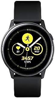 "Samsung Galaxy Watch Active SM-R500 (1.1"" Display, 20mm Band) 4GB Tizen OS Bluetooth Smartwatch - International Version (Black)"