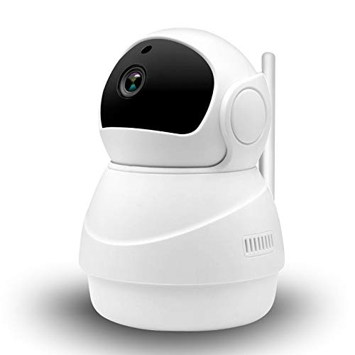 SCDXJ Cámara IP Inalámbrica 1080P HD Cámara WiFi Cámara Interior Cámara De Seguridad Visión Nocturna Audio Bidireccional Detección De Movimiento