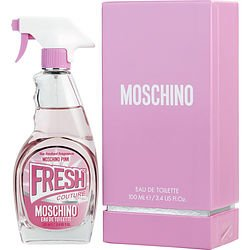 Moschino Pink Fresh Couture By Moschino Edt Spray 3.4 Oz