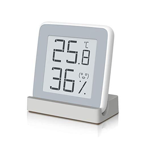 Homidy Digital Hygrometer Indoor Thermometer, Rare 360° HD E-Ink Screen Room Temperature Humidity Meter Swiss SENSIRION High Acurracy Temperature Humidity Gauge Sensor(Xiaomi Mijia Smart)