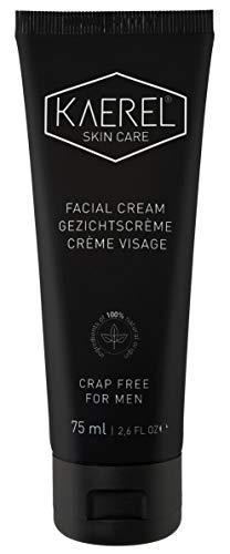 Kaerel soins de la peau pour hommes Crème pour visage 75ml -, Tout Naturel et organique