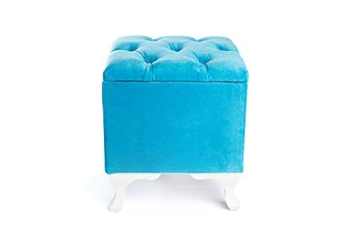 Kora Schminksitz Sitzmöbel Sitzhocker (Blau)