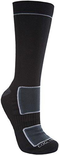 Trespass Herren Rizzle Coolmax-Socken/Sportsocken / Wandersocken (41-45 EUR) (Schwarz)