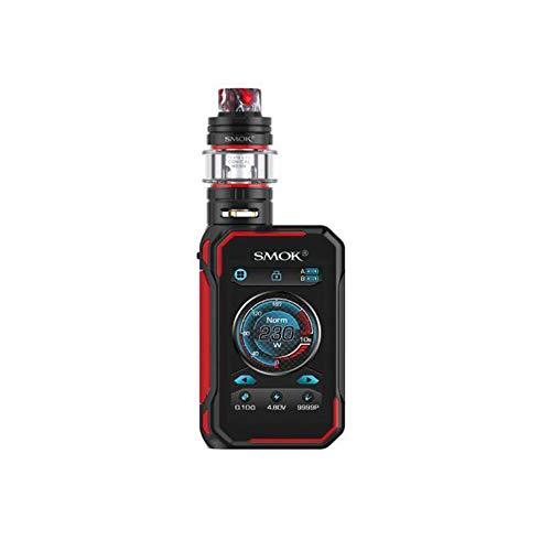 S-MOK G-Priv 3 Kit (negro) 230W con TFV16 Lite Tank 5ml E-Cigarette Box Mod Kit alimentado por batería dual 18650 (externa), vaporizador E-Cig vape kit, sin nicotina