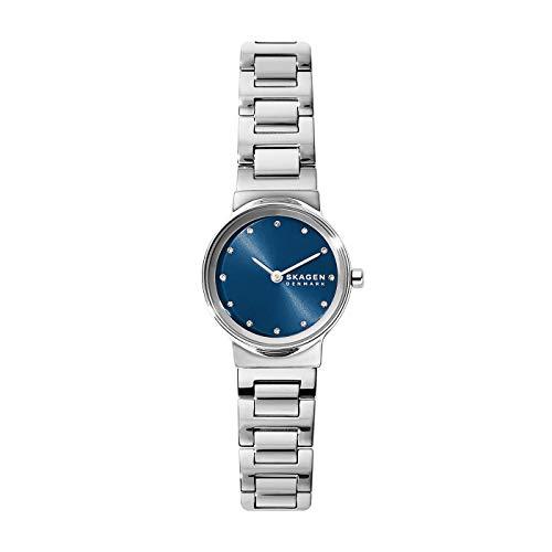 Skagen Damen Analog Quarz Uhr mit Edelstahl Armband SKW2789