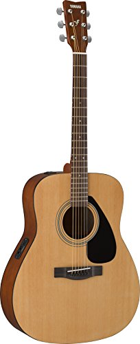 Yamaha FX310AII - Guitarra acústica con cuerdas metálicas (madera, tipo dreadnought), color natural