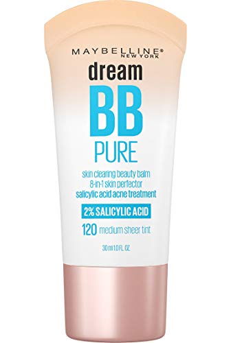 Maybelline Dream Pure BB Cream, Medium, 1 fl. oz. (Packaging May Vary)