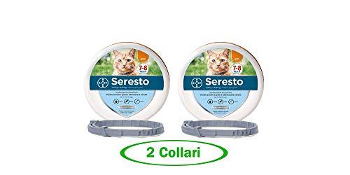 Bayer SERESTO Collare Gatto - Offerta 2 Collari