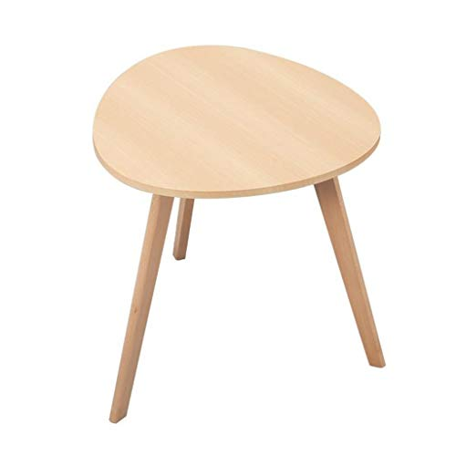 LYN Bijzettafel, massief houten bijzettafel, bijzettafel, salontafel, eenvoudig te monteren, multifunctionele aankleding, woonkamer