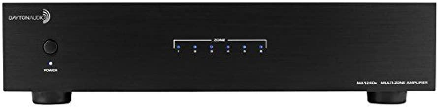 Dayton Audio MA1240a Multi-Zone 12 Channel Amplifier