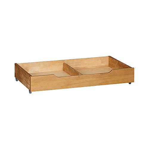 MUSEHOMEINC Solid Wood Under Bed Storage Drawer...
