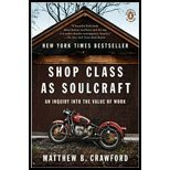 Shop Class as Soulcraft (10) by [Paperback (2010)]