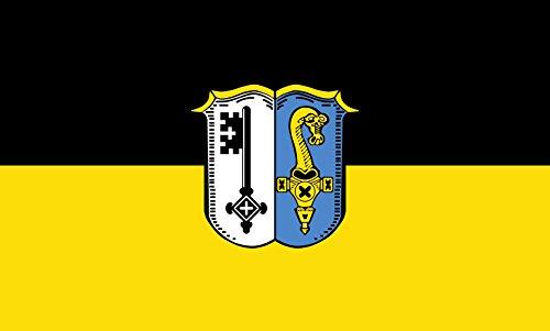 Unbekannt magFlags Tisch-Fahne/Tisch-Flagge: Manching, M 15x25cm inkl. Tisch-Ständer