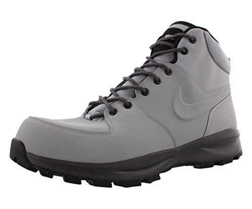 Nike Nike Manoa Leather, Men's Trail Running Shoes, Multicolour Wolf Grey Thunder Grey Black 004, 6 UK (40 EU)