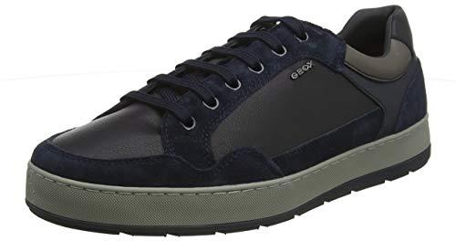 Geox U ARIAM B, Zapatillas para Hombre, Azul (Navy C4002), 45 EU