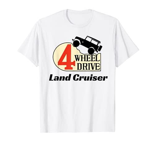 4輪 ドライブ ランドクルーザー Tシャツ
