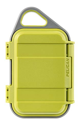 Pelican Go G10 Case  Waterproof Case Lime/Grey