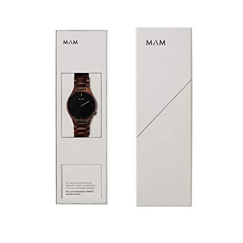 [MAMOriginals]時計メンズレディース/VolcanoボルカーノMO611サンダルウッド白檀エシカルファッション【日本総輸入代理店】