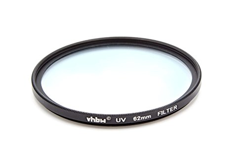 vhbw Universal UV-Schutz Filter 62mm passend für Kamera Fuji/Fujifilm XF 23 mm F1.4 R, XF 55-200 mm F3.5-4.8 R LM OIS, XF 56 mm 1,2 R APD.