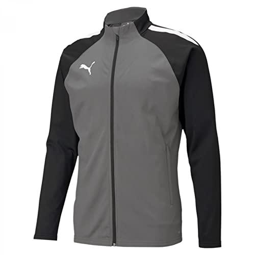 PUMA TeamLIGA Trainingsjacke Herren grau/schwarz, XL