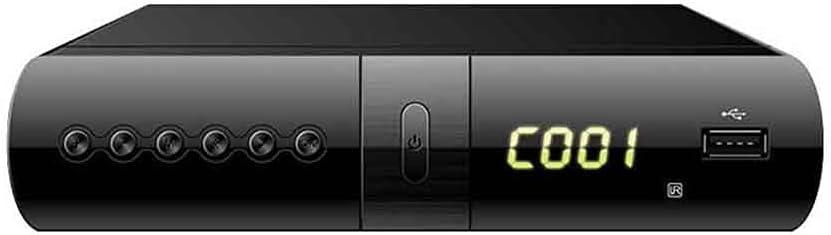 KTING HD Set Top Box Plus Digital TV Receiver Box & USB Socket H.265 Recorder New