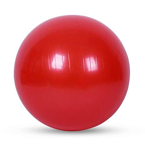 Umweltschutz Aufgeblasen Kleiner Gymnastikball Verdicken Explosionsgeschützt Balance Fitnessbälle Bauchmuskeltraining Nackenmassage Mini Pilates-rot,105cm