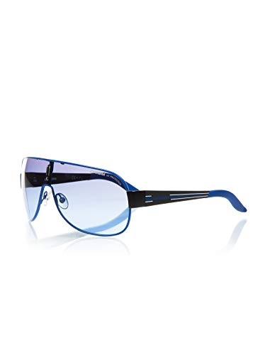 Carrera Kids Carrerino 7 Blue / Black Frame/Grey, Silver Mirror Lens Metal Sunglasses