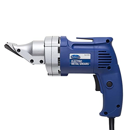 Eastwood Electric Metal Cutting Shears Tools Rotating Jaws Variable Speed 2500 Rpm