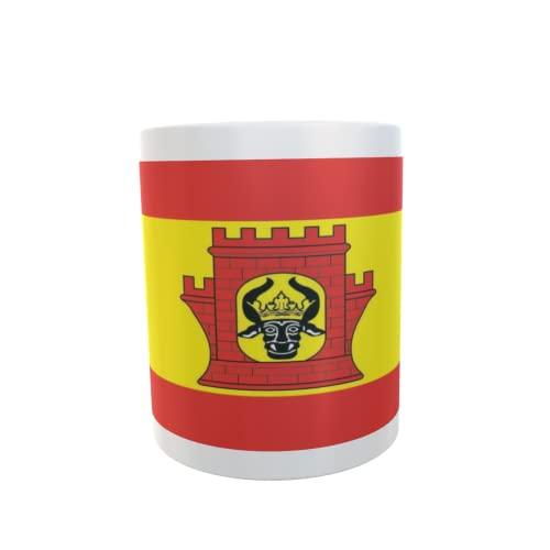 U24 Tasse Kaffeebecher Mug Cup Flagge Plau am See
