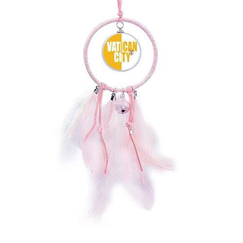 Beauty Gift Traumfänger, Vatikanstadt, ländliche Flagge, Namensschild, kleine Glocke, Schlafzimmer-Dekoration