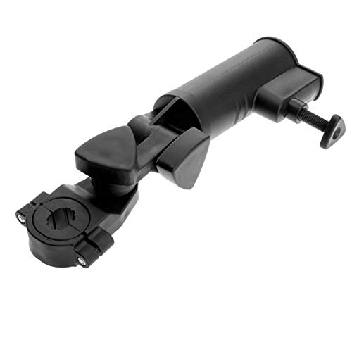 Tongdejing Regenschirmhalter für Golfwagen, verstellbarer Winkel, universeller Schirmhalter für Fahrrad, Kinderwagen, Kinderwagen, Rollstuhl