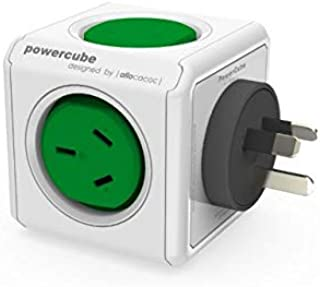 Allocacoc 5200GN/ Surge Protector 2 Outlets and 2 USB Ports